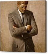 John F Kennedy 2 Canvas Print