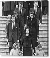 John F. Kennedy Funeral Canvas Print