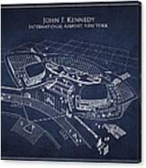John F Kennedy International Airport Canvas Print