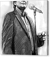 John Farnham Art Drawing Sketch Portrait Canvas Print