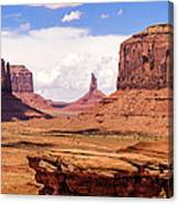 John Ford Point - Monument Valley - Arizona Canvas Print