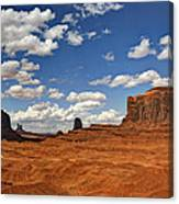 John Ford Point - Monument Valley  Canvas Print
