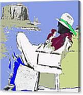 John Ford The Searchers Set Monument Valley Arizona 1955-2013 Canvas Print