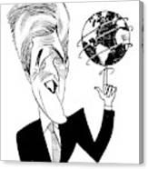 John Kerry Earth Day Canvas Print