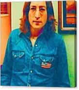 John Lennon 1975 Canvas Print