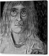 John Lennon Number 9 Canvas Print
