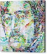 John Lennon Portrait.2 Canvas Print