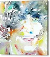 John Lennon Portrait.3 Canvas Print