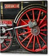 John Molson Steam Train Locomotive Canvas Print