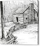John Ownby Cabin Canvas Print