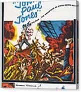 John Paul Jones, Us Poster Art, 1959 Canvas Print
