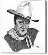 John Wayne #1 Canvas Print