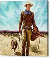 John Wayne Hondo Canvas Print