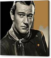 John Wayne Publicity Photo In Costume Stagecoach 1939-2013 Canvas Print