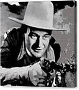 John Wayne Two-fisted Law  1932 Publicity Photo Canvas Print
