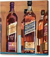 Johnnie Walker Canvas Print