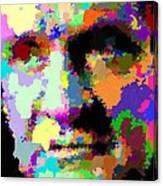Johnny Cash - Abstarct Canvas Print