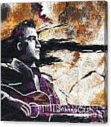 Johnny Cash Original Painting Print Canvas Print