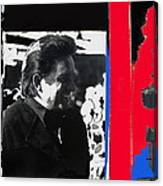Johnny Cash  Smiling Collage 1971-2008 Canvas Print