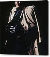 Johnny Cash Trench Coat Old Tucson Arizona 1971 Canvas Print
