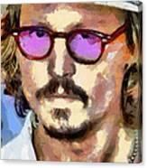 Johnny Depp Actor Canvas Print