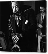 Johnny Griffin 3 Canvas Print