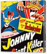 Johnny The Giant Killer, Aka Jeannot Canvas Print