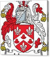 Johnson Coat Of Arms Irish Canvas Print