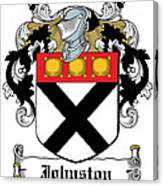 Johnston Coat Of Arms Irish Canvas Print