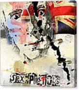 Johny Rotten Canvas Print