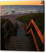 Join Us For The Sundown Canvas Print