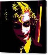 Joker 10 Canvas Print