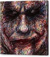 Joker - Face I Canvas Print
