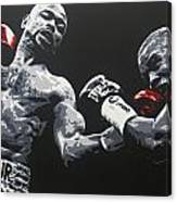 Jones Jr Vs Trinidad Canvas Print