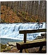 Jones Mill Run Dam Relaxing View Canvas Print