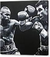 Jones V Calzaghe Canvas Print
