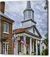 Jonesboro Methodist Church Canvas Print