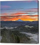 Jonsrud Viewpoint Sunrise Canvas Print