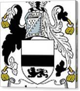 Jordan Coat Of Arms Irish Canvas Print