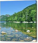 Jordan Pond Canvas Print