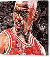 Jordan The Best Canvas Print