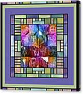 Jornada Mogollon Kaleidoscope Canvas Print