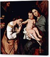 Jos De Ribera Canvas Print