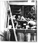 Jose Clemente Orozco On Scaffolding Canvas Print