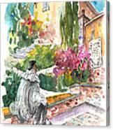 Jose Ledesma Criado In Salamanca Canvas Print