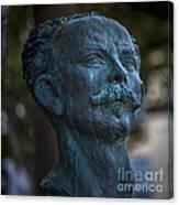 Jose Marti Statue Cadiz Spain Canvas Print