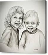 Joseph And Michael Canvas Print