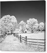 Joseph Poffenberger Farm 8d00231 Canvas Print