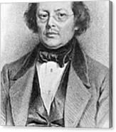 Joseph Skoda (1805-1881) Canvas Print