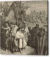 Joseph Sold Into Egypt Canvas Print
